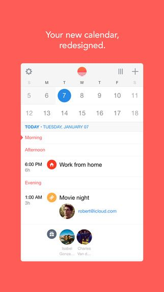 Best productivity #apps we #levolove: 1. Sunrise iPhone app
