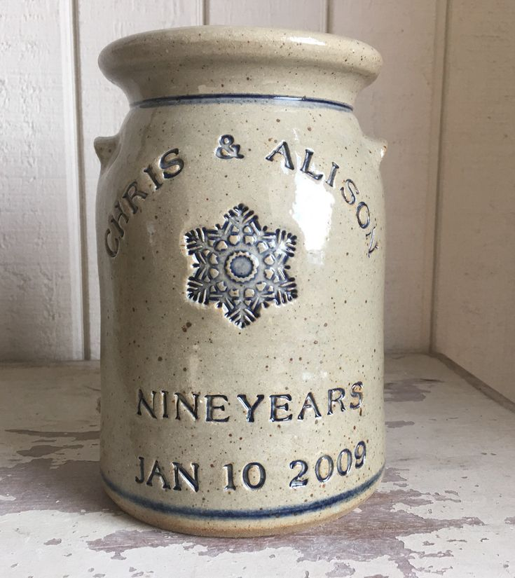 Pottery Wedding Anniversary Gifts: 109 Best Personalized Pottery Gift Ideas Images On