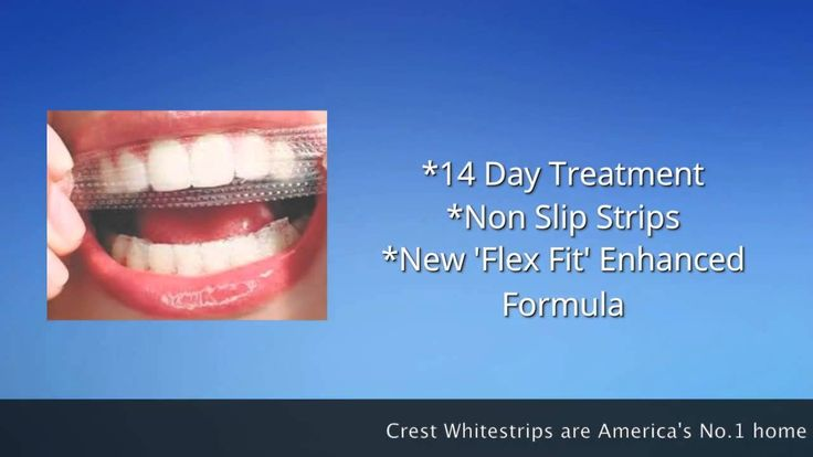 Crest 3D Whitestrips Luxe Supreme Flex Fit for Yellow Teeth - teeth whitening just got better!