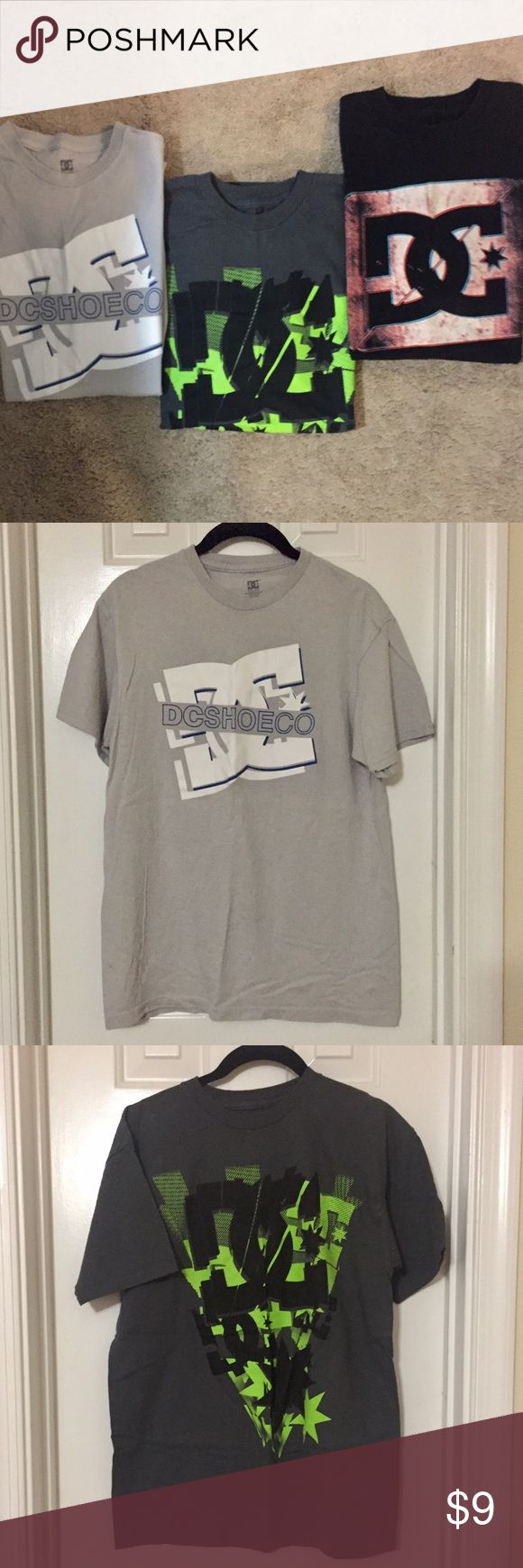 Bundle of 3 DC Skate Medium Youth Boys T Shirts These shirts are in good condition! No stains, holes or rips. Normal wear. DC Shirts & Tops Tees - Short Sleeve