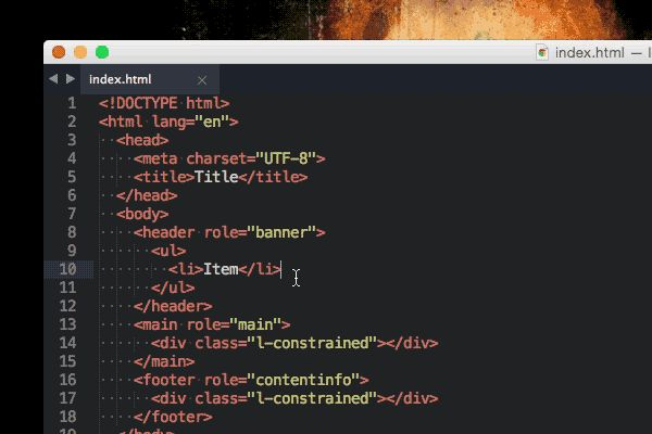 Sublime Text 3 has a lot of features and shortcuts for the modern coder to play with. Let's take a look at the most important which I think will boost your workflow to a new level. Learn how to use...