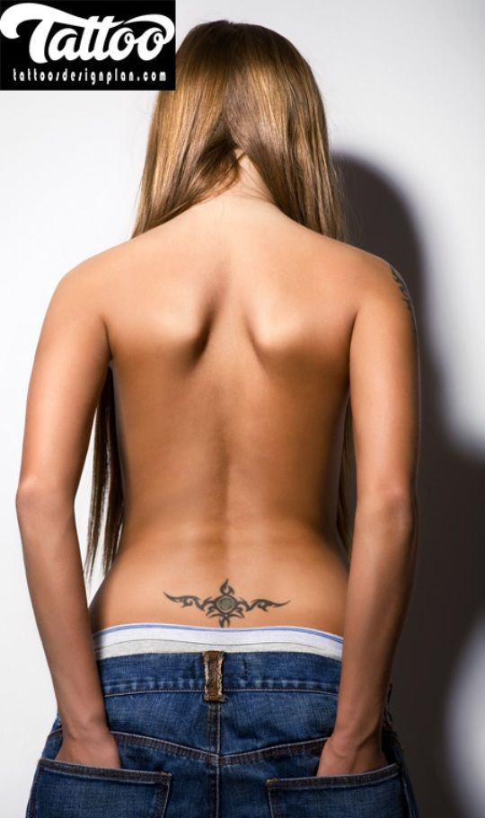 Best Lower Back Tattoo - http://tattoosdesignplan.com/best-lower-back-tattoo/