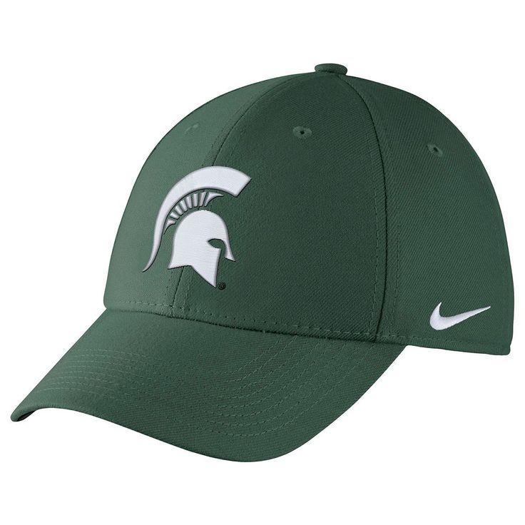 Men's Nike Michigan State Spartans Dri-FIT Flex-Fit Cap, Ovrfl Oth