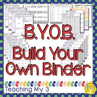 Are You Ready To Plan? Build your own teacher binder with this huge pack of pages. Teacher Binder. Sub Binder.
