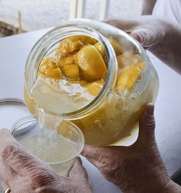 Yucca!!    tequila, lemons, sugar & ice.Wrap with towel shake pass around shake more, when ice forms on glass its ready to drink