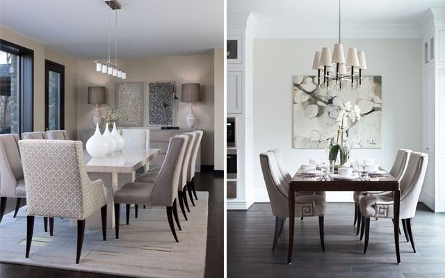 Ideas para decorar comedores elegantes - Decorar mesa salon comedor ...