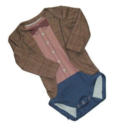 Dr. Who onsie for baby