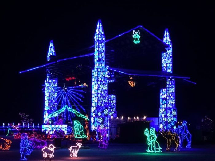 Bentleyville is made up of more than 4 million lights strung across the 20-acre park.