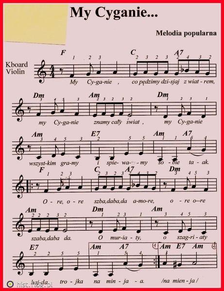 My Cyganie...popular Polish Gypsy/Roman song. Cyganie means Gypsies in the Polish language & culture.