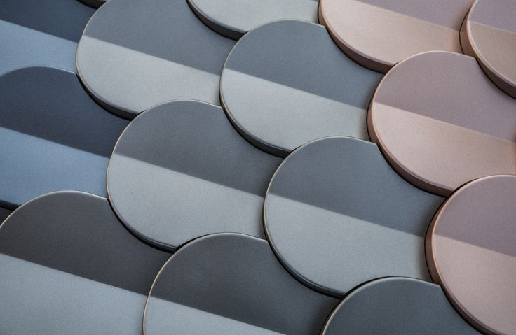 'Shingle' by Patrycja Domanska and Tanja Lightfoot for KAZA Concrete in metallic colours
