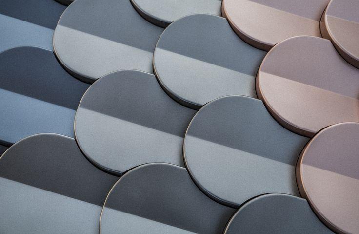 'Shingle' by Patrycja Domanska and Tanja Lightfoot for KAZA Concrete in metallic colours
