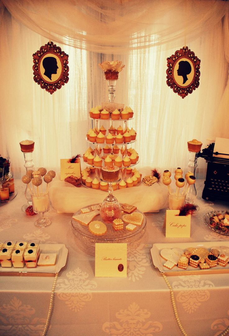 Great Gatsby Sweet Table