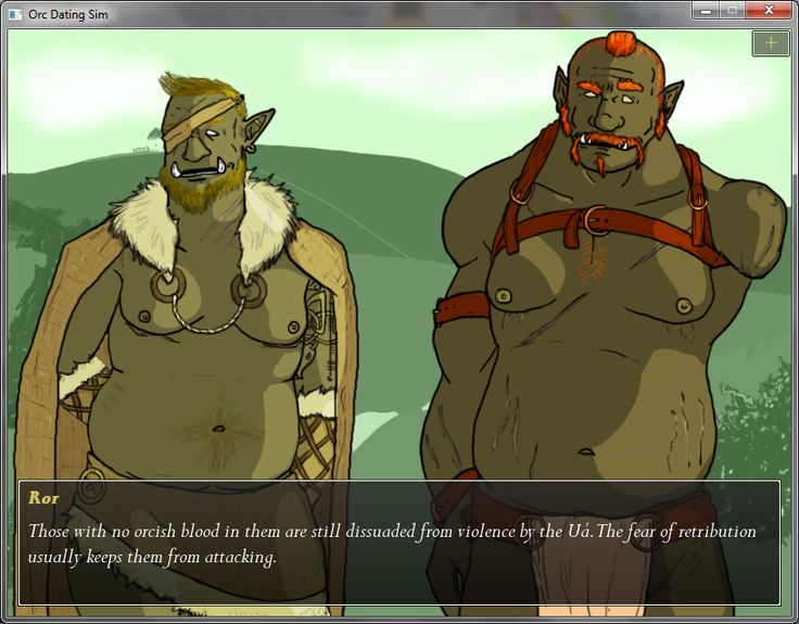 Tusks: The Orc Dating Sim - Because the world needed a gay orc dating sim.