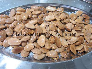 ALMENDRAS FRITAS AL MICROONDAS