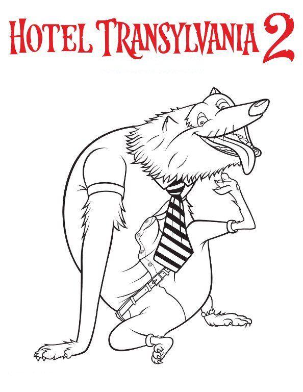 coloring page hotel transylvania 2 hotel transylvani 2 - Fun Pictures To Colour In 2
