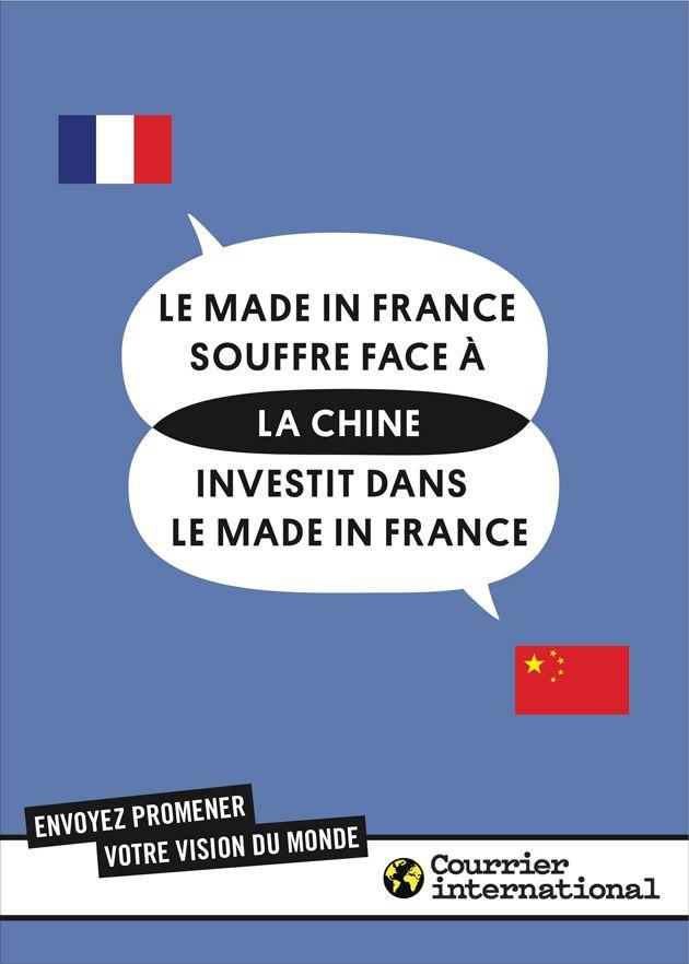 Courrier International. Envoyez promener votre vision du monde. Chine. BETC Paris, 2012