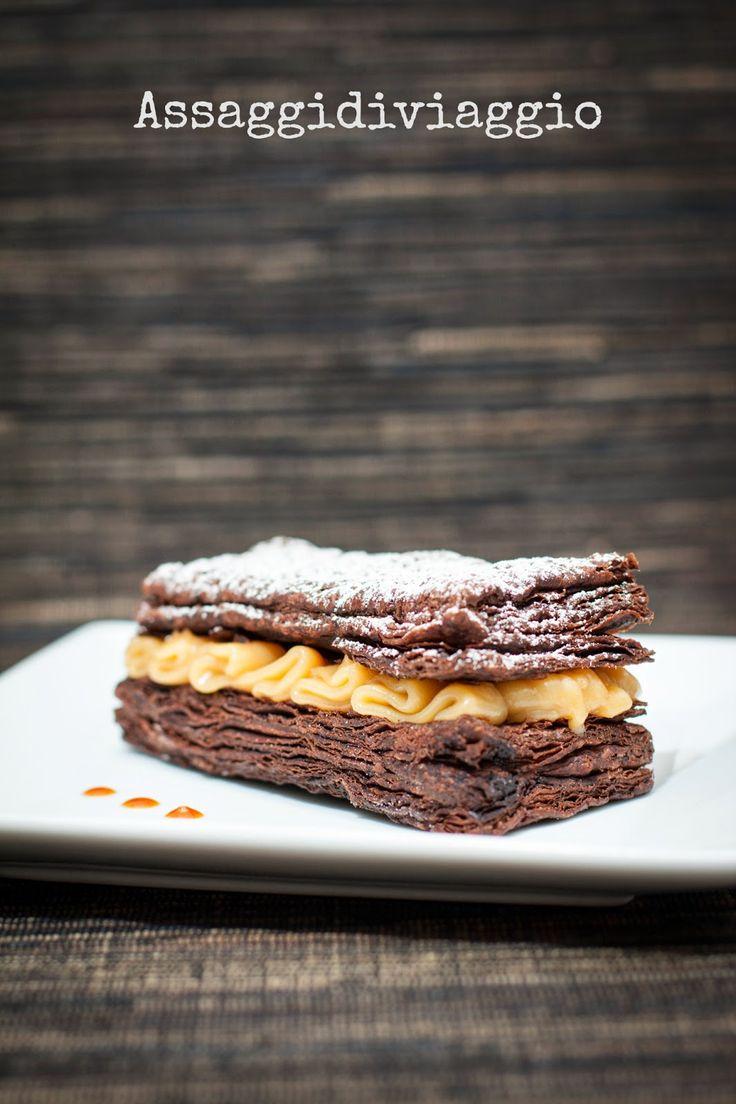 Assaggidiviaggio: Massari Per la pasta sfoglia al cacao (ricetta di I. Massari