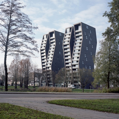 by oval_BURNS, Eindhoven -- one of the apartments we are looking at -- love the design!