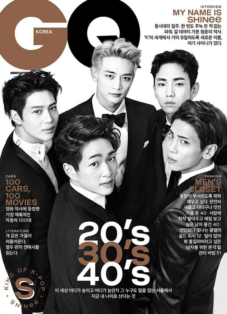 160913 #SHInee - GQ Korea October 2016 Issue