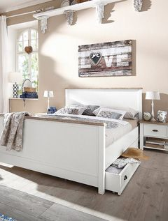 25+ Best Ideas About Bett Landhausstil On Pinterest | Schlafzimmer ... Schlafzimmer Moderner Landhausstil