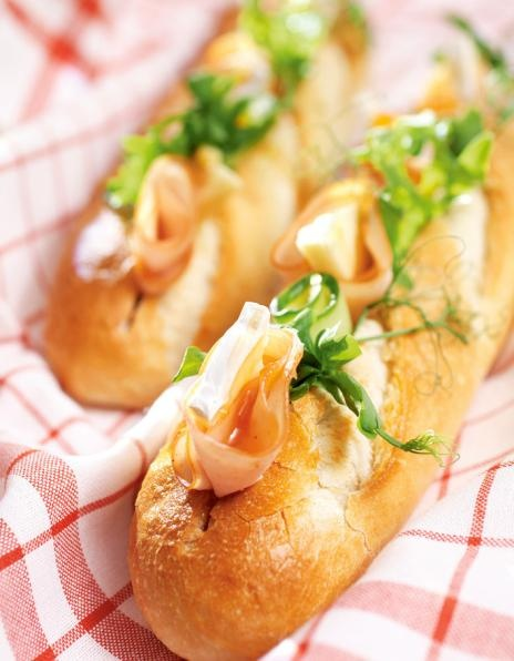 Kalkkuna-briepatongit | K-Ruoka #leipä