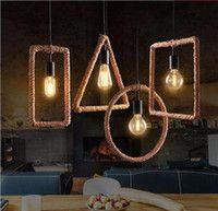 Wholesale Rope Pendant Light - Buy Cheap Rope Pendant Light from Best Rope Pendant Light Wholesalers | DHgate.com