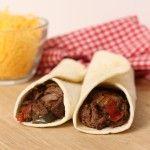 Crockpot Steak Fajitas