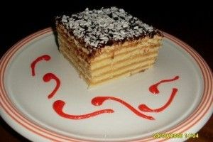 Prajitura cu foi si crema caramel - Culinar.ro