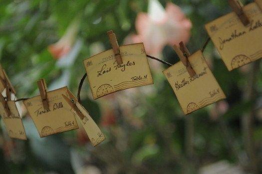 Wedding Escort Cards Wedding Placecards by GreenAcresCottage