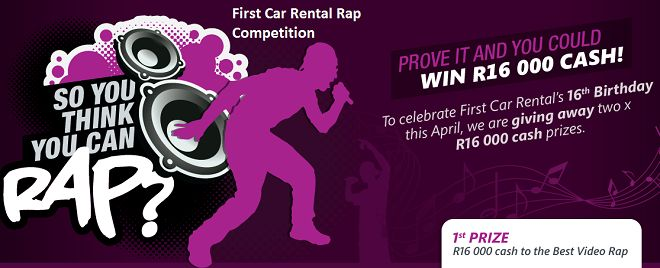 First Car Rental's 16th birthday rap competition