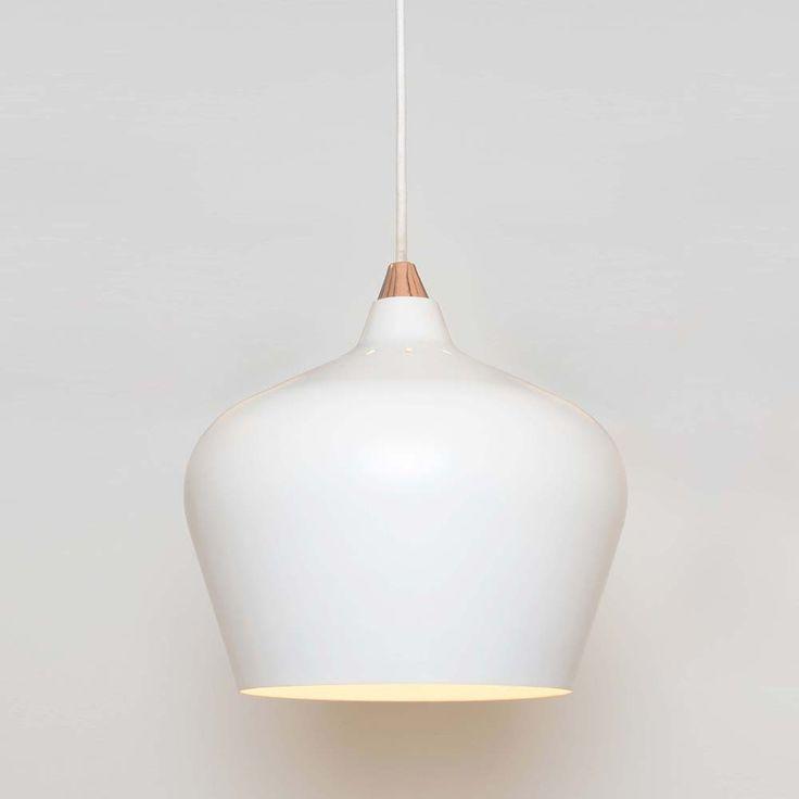 Cohen Pendant Light - White - Medium