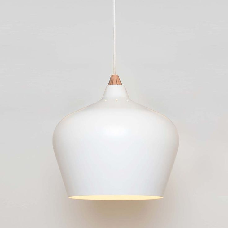 Cohen Pendant Light - White - Medium