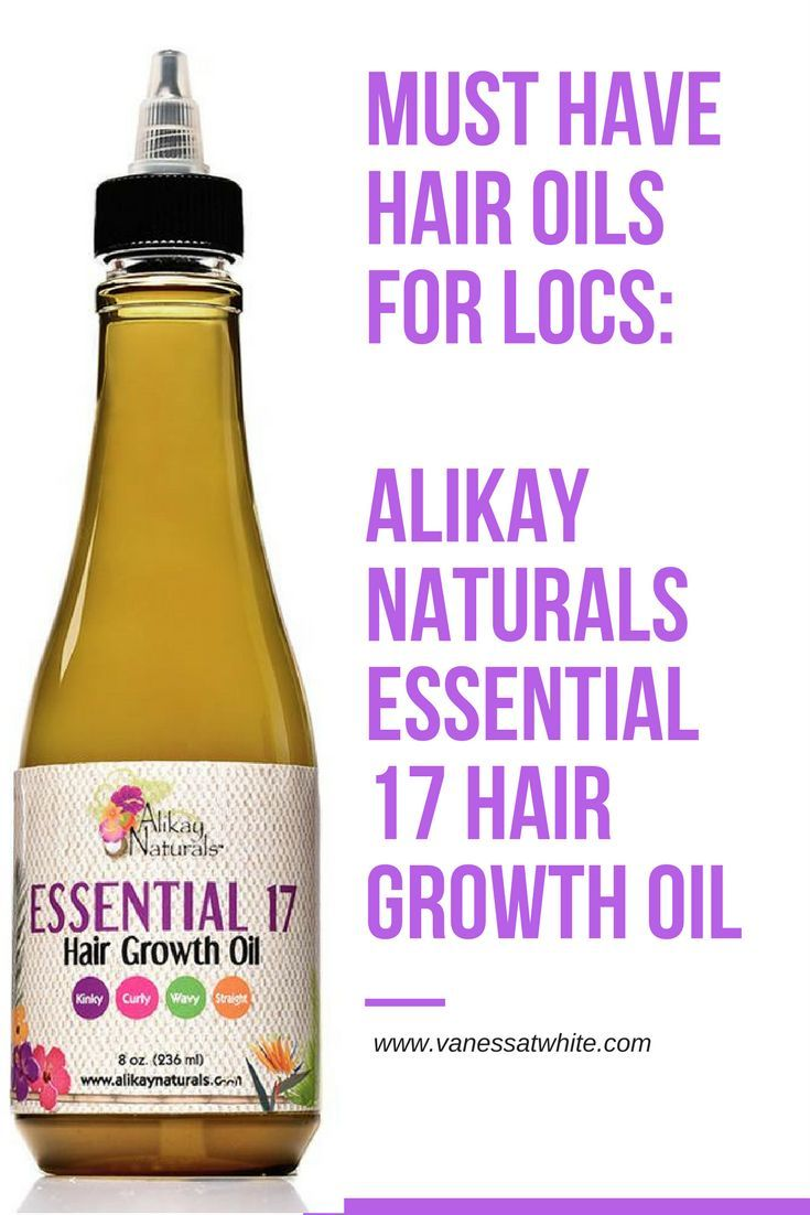 It is important to keep hair oils close by when you have locs! No matter what, you're locs should always be hydrated! Alikay Naturals has an awesome essential 17 hair growth oil that keep your locs hydrated and healthy. Check out my blog entry to learn mo
