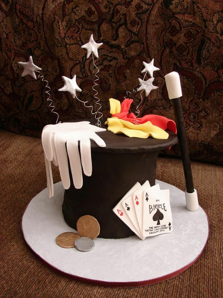 How To Make A Magician Hat Cake