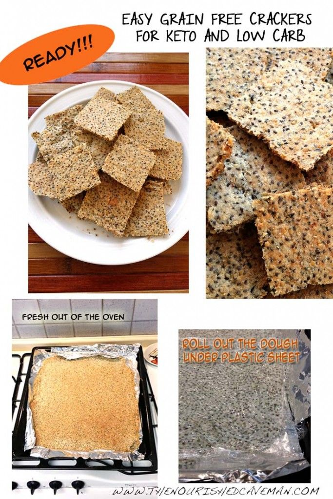 Easy Grain Free Crackers By The Nourished Caveman