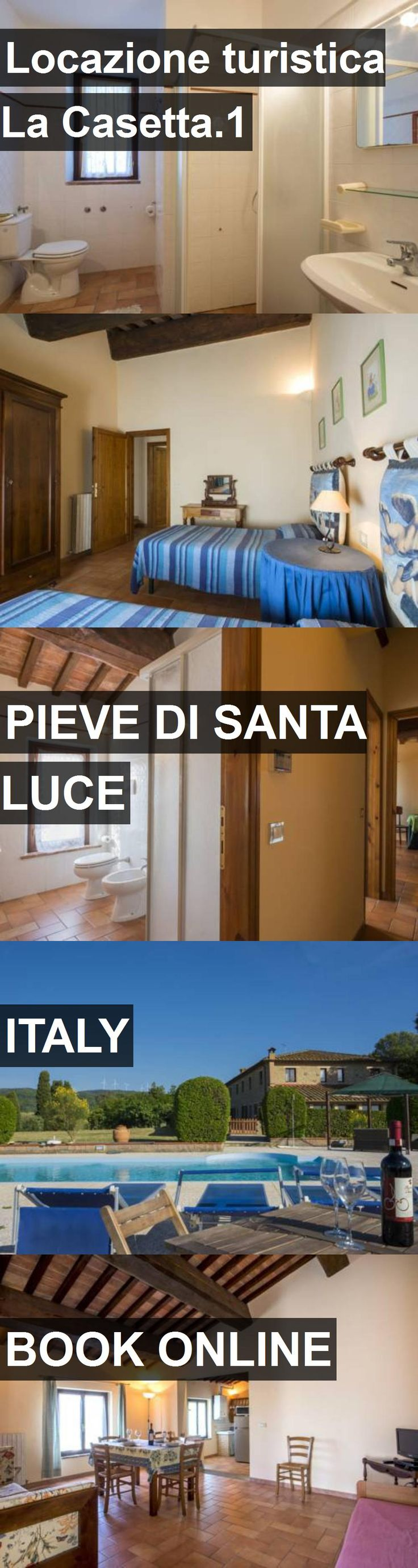 Hotel Locazione turistica La Casetta.1 in Pieve di Santa Luce, Italy. For more information, photos, reviews and best prices please follow the link. #Italy #PievediSantaLuce #travel #vacation #hotel