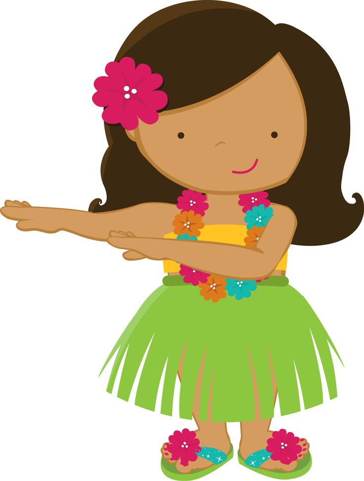 Pin by Liran S on clipart | Hawaiian girls, Hula girl ...