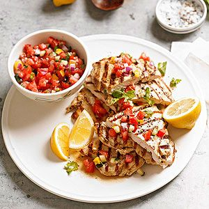 Grilled Chicken Paillards From Better Homes and Gardens, ideas and improvement projects for your home and garden plus recipes and entertaining ideas.