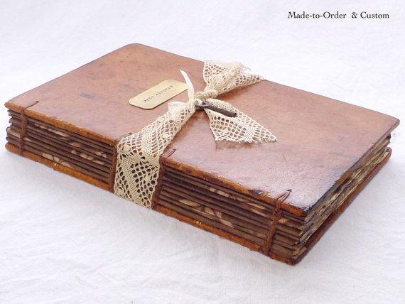 Aangepaste Hollow boek veilig, rustieke verlovingsring vak geheime kluis, trouwring houder, geheime boek vak Stash boek, Upcycled antieke boek