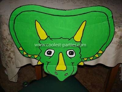 Pin the horn on Triceratops