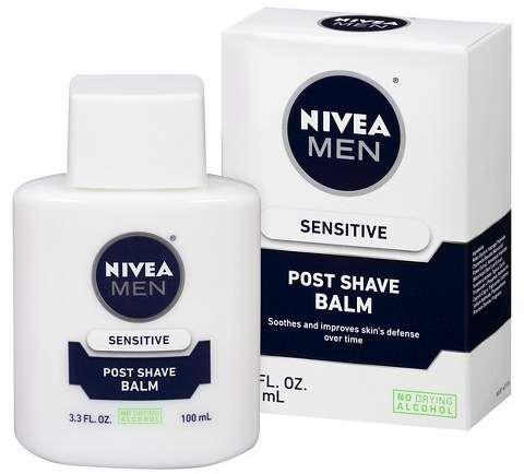 Nivea for Men Nivea Men Sensitive Post Shave Balm - 3.3 fl oz. Works for after shaving bikini area, and underarms. #affiliate #beauty #skincare