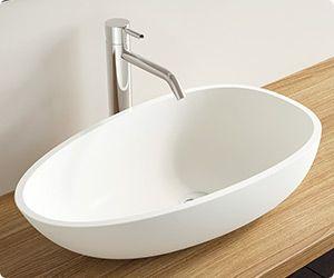 Das Waschbecken Aus Mineralguss Ist Ein Optischer Und Moderner Hingucker In  Jedem Badezimmer. In Matt Oder Glänzend Erhältlich.