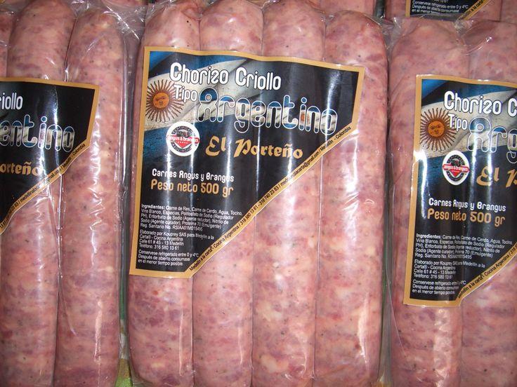 Especial para un delicioso choripan argentino