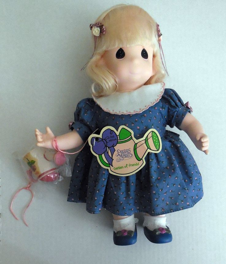 Rose Garden OF Friends Precious Moments Doll 2nd Edition June 1995 Doll Mint | eBay