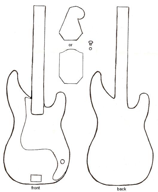 Patron guitare