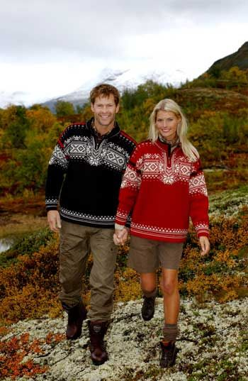 The famous Dale of Norway jumpers...