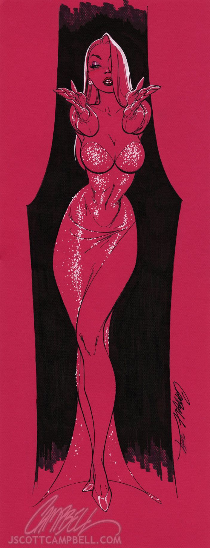 Jessica Rabbit Art Collection - News - GeekTyrant...what a sexy photo