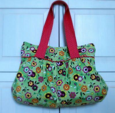 A floral summer bag
