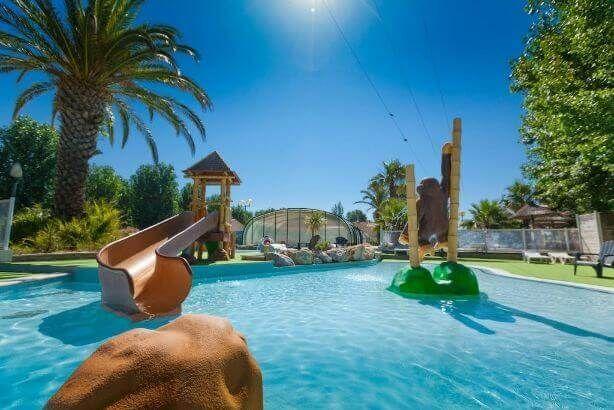 Camping Languedoc Roussillon Avec Parc Aquatique Et Toboggans Parc Aquatique Camping Languedoc Roussillon