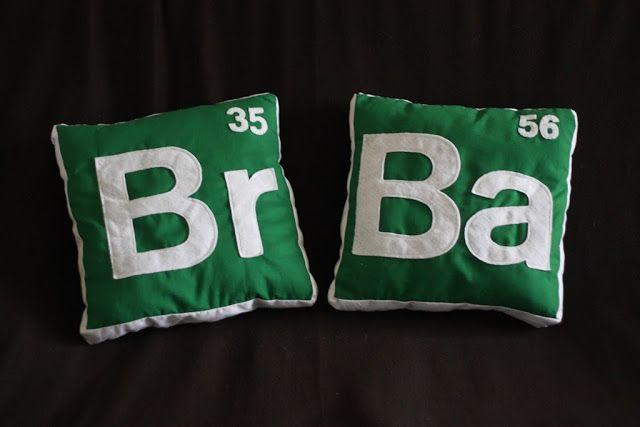 DIY Breaking Bad Pillows (LizMakes)